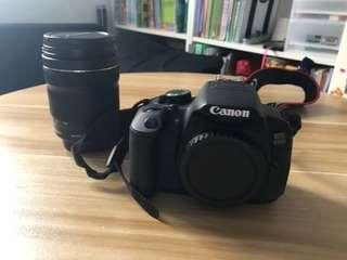 Canon 650D with led