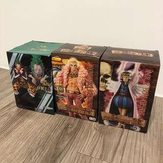 One piece three boxes