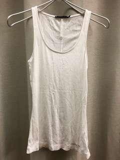 Calvin Klein cotton 白色背心