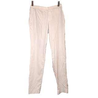 Uniqlo 白色 西裝褲