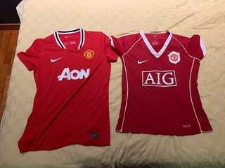 Authentic Manchester United Size S Female Jerseys