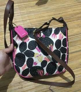 Fossil Kyle Crossbody Cactus Authentic