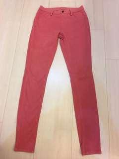 Uniqlo pink pants size s waist 60-66cm hip 85-91cm