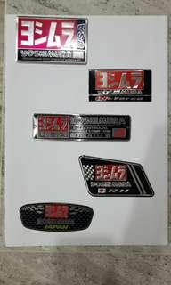 🚚 Yoshimura exhaust decal