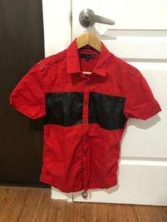 G by Guess Red Polo