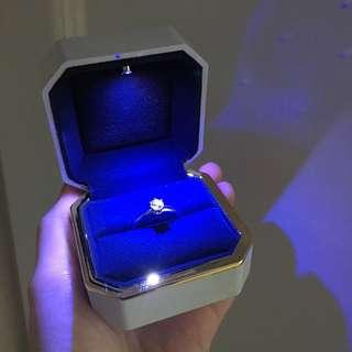 LED發光介指盒 鋼琴面