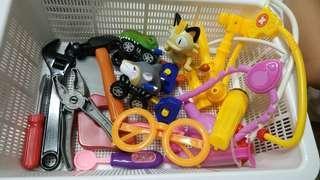 Toys Doctor set + Workshop