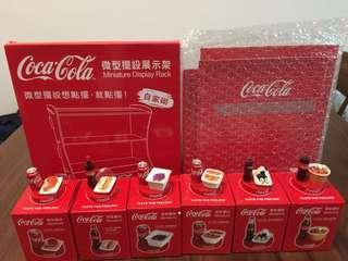 可口可樂微型擺設
