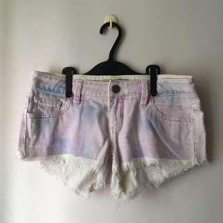 Guess Pastel Purple and Blue Shorts