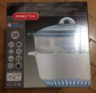 Pyroflam Vitro-ceramic Cookware 2 Litres Fast Deal @ $45