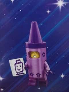Lego movie 2 minifigurine crayon girl