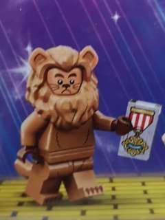Lego movie 2 minifigurine cowardly lion