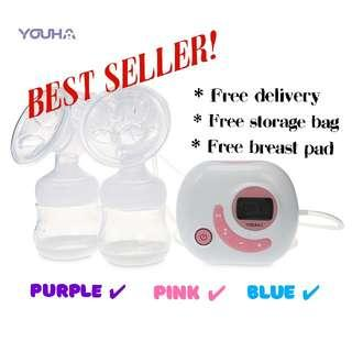 Youha Electrical Smart Chip Double Breastpump