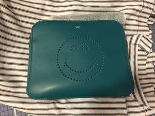 Anya Hindmarch (Smiley cross body with tassels)