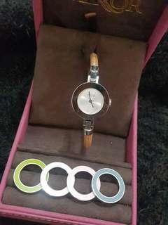 🚚 Coach 可換錶圈手錶