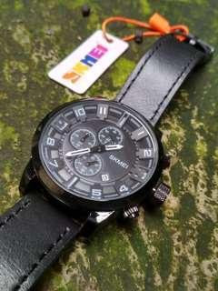 Jam tangan exclusive leather original