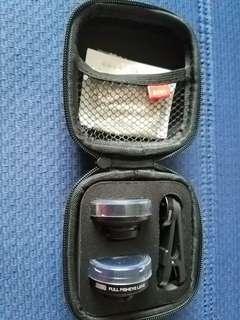 4K專業版 廣角+微距+鱼眼 手機鏡頭