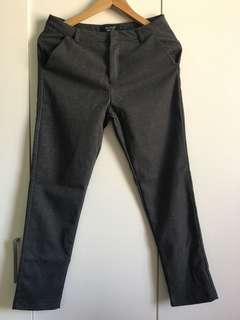 Formal Grey Narrow Pants