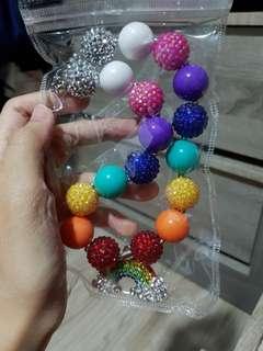 🚚 Rainbow beads necklace