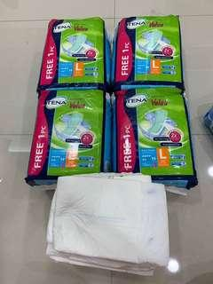 🚚 Tena value adult diapers (L)