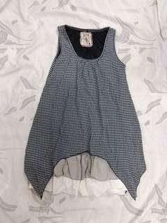 BN VOIR Checkered Dress