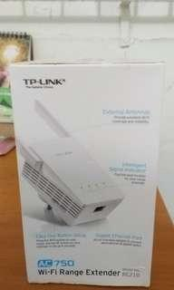🚚 TP-Link AC 750 Wifi Range Extender ,802.11ac 750Mbps ( Model-RE 210 )
