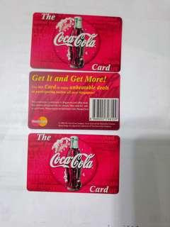 🚚 The Coca Cola card