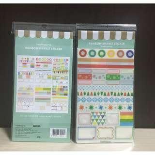 Schedule Book Stickers