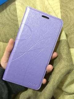 🚚 紅米Note6 Pro 手機殼/掀蓋式/紫