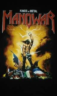 Manowar metal of king band tee