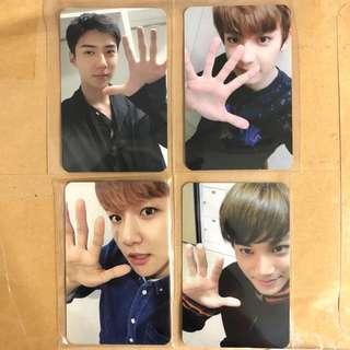 exo 5th anniversary exordium dot pc album card