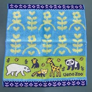 日本上野動物園 小方巾