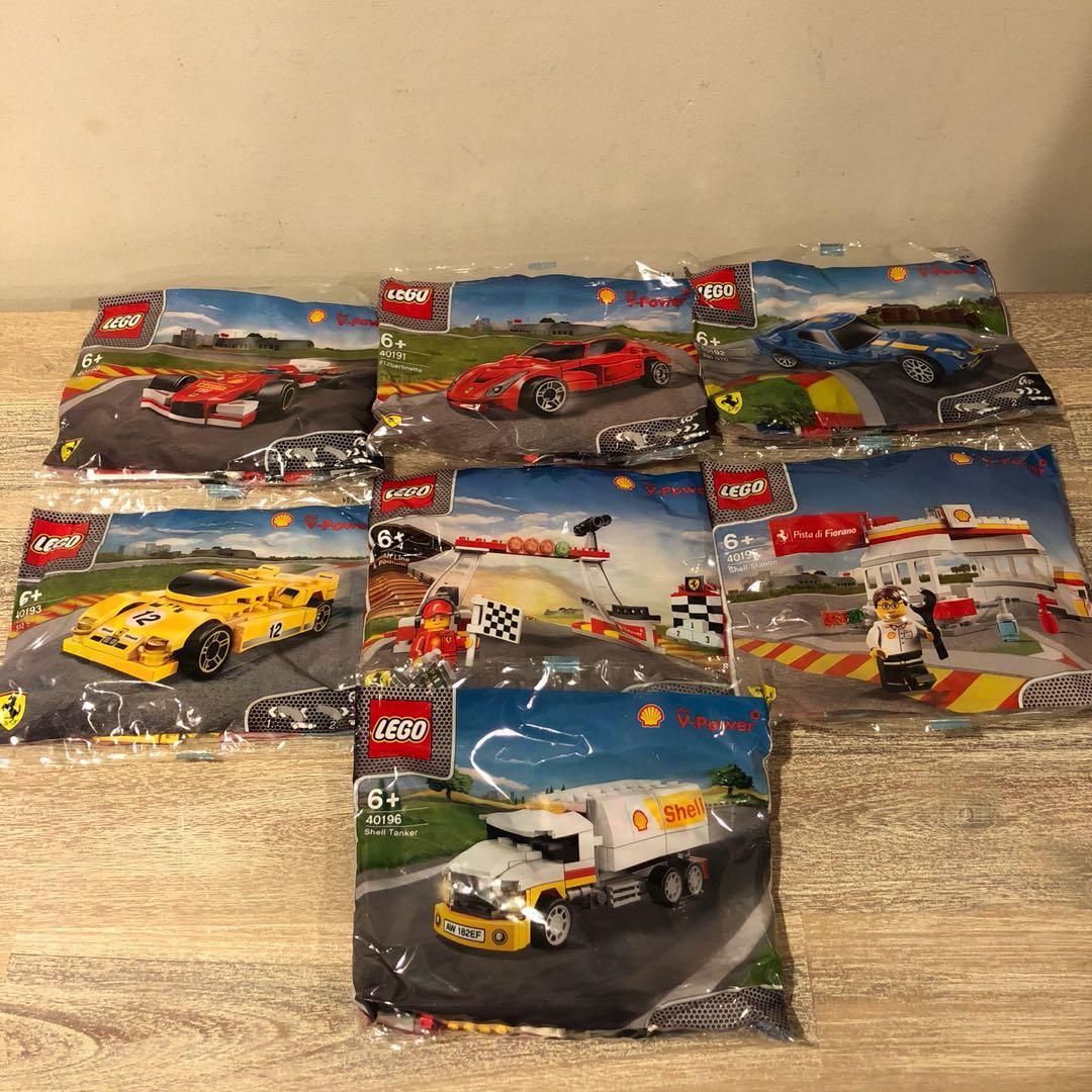 40191 NEW /& SEALED Lego shell v-power Ferrari F12 Berlinetta promotion set