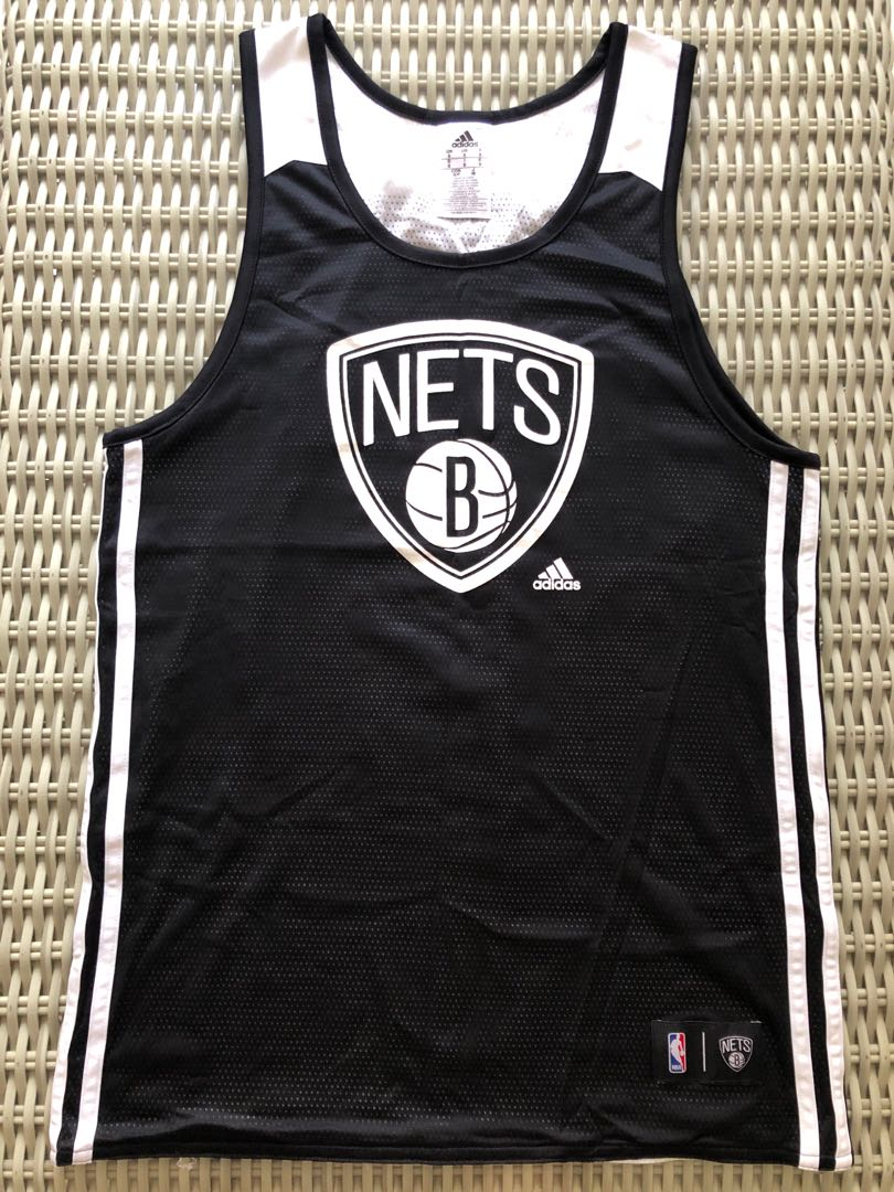 45d5783f2 Adidas 💯% Authentic NBA Brooklyn Nets practice jersey for SGD 32 ...