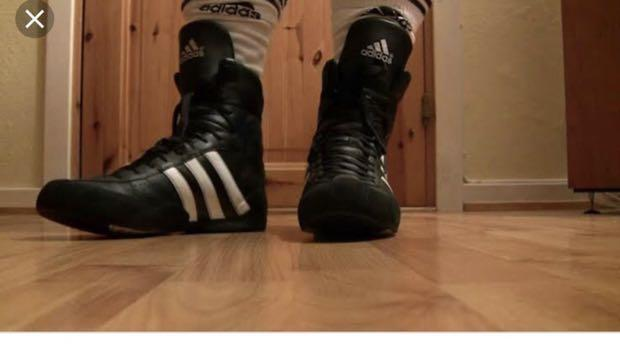 Adidas boxing/wrestling boots