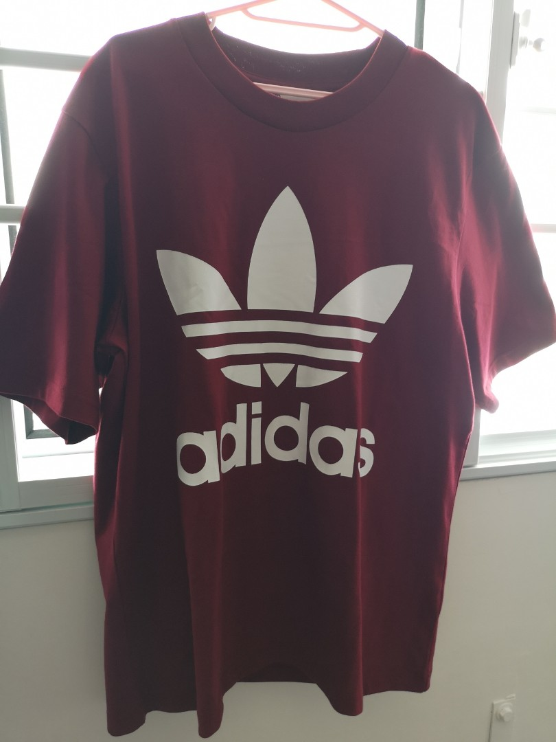 98d83a6ac Adidas T-shirt, Women's Fashion, Clothes, Tops on Carousell