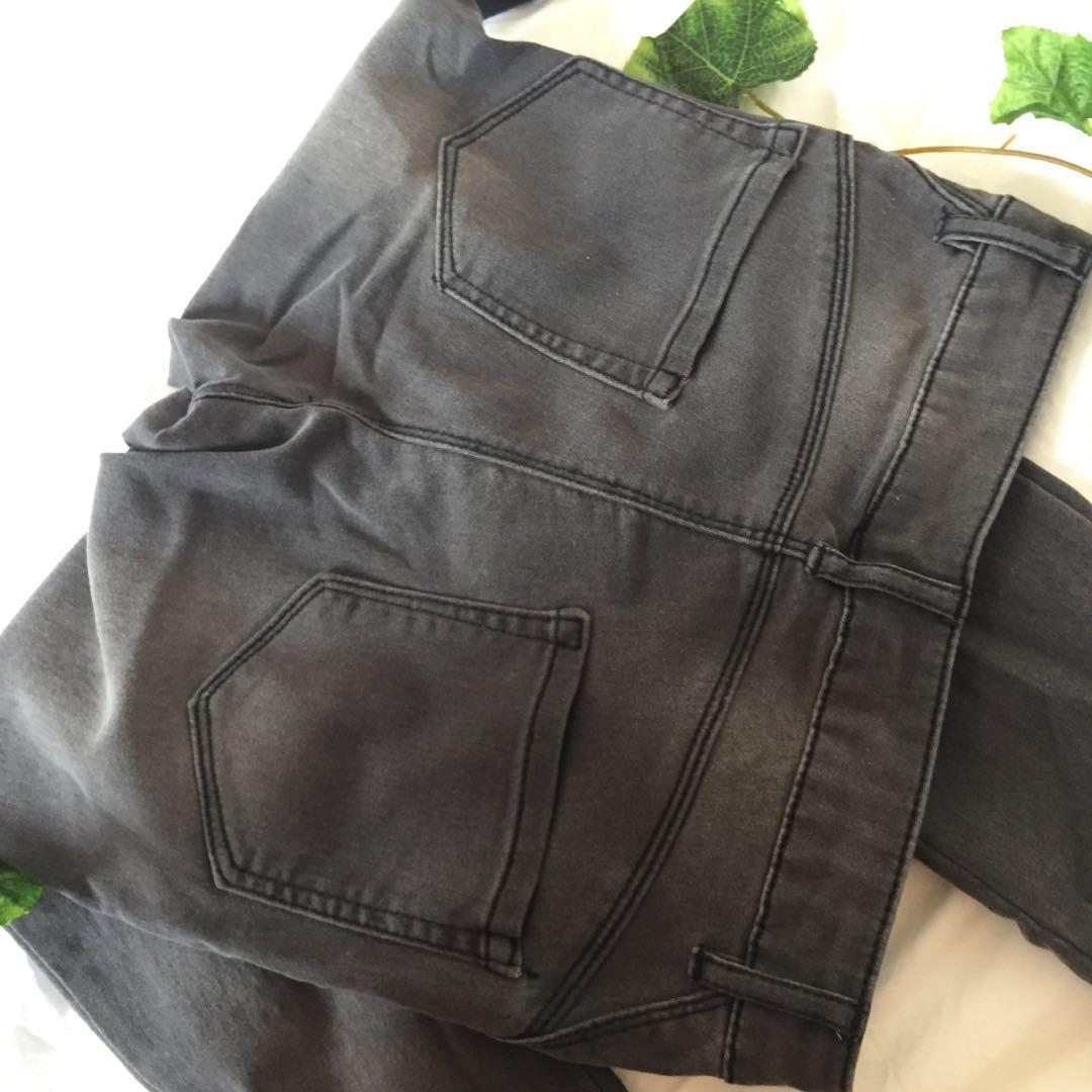 ashy charcoal jeans
