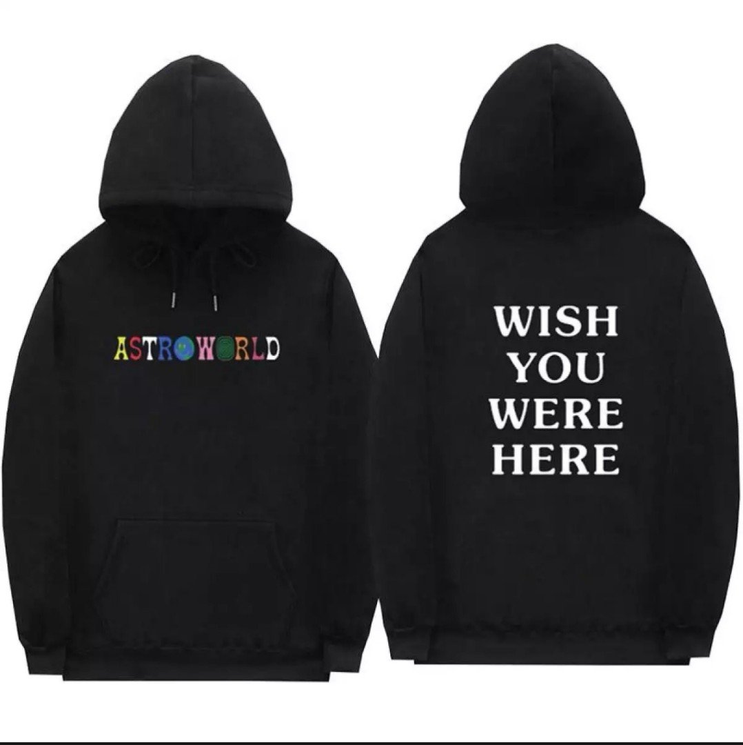 150d40d5769 Astroworld Travis Scott Hoodie on Carousell