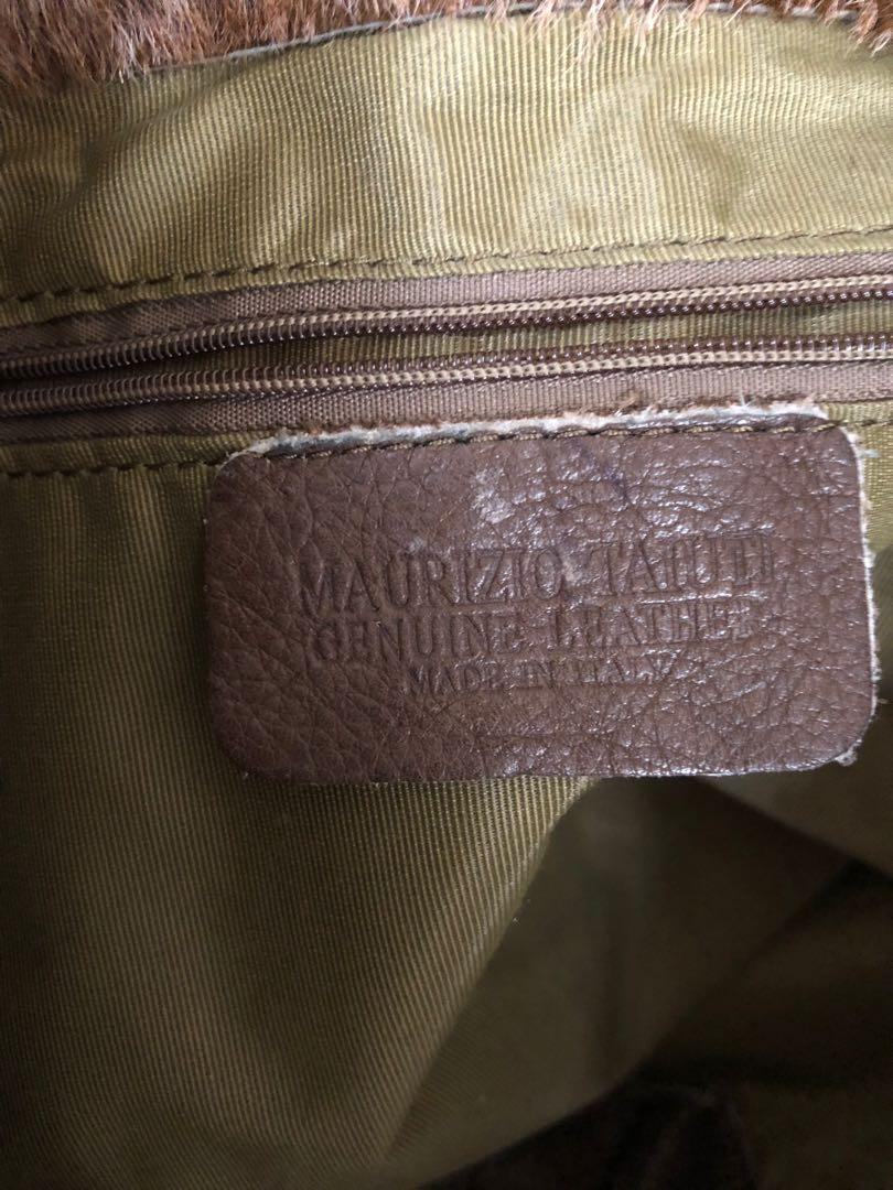 Authentic leather Made in Italy by Maurizio Taiuti