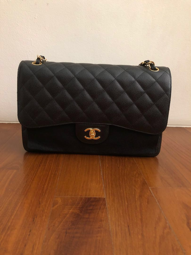 48d91a00c45526 Chanel classic double flap bag Large, Luxury, Bags & Wallets ...