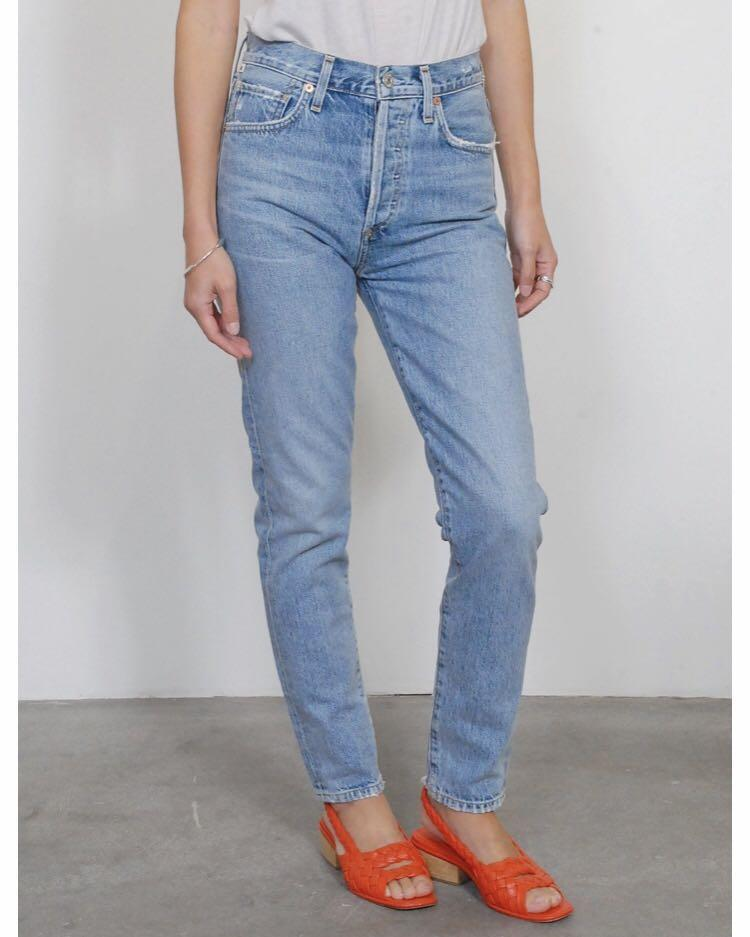 CITIZENS OF HUMANITY // Size 24 // Liya High Rise Classic Crop Denim