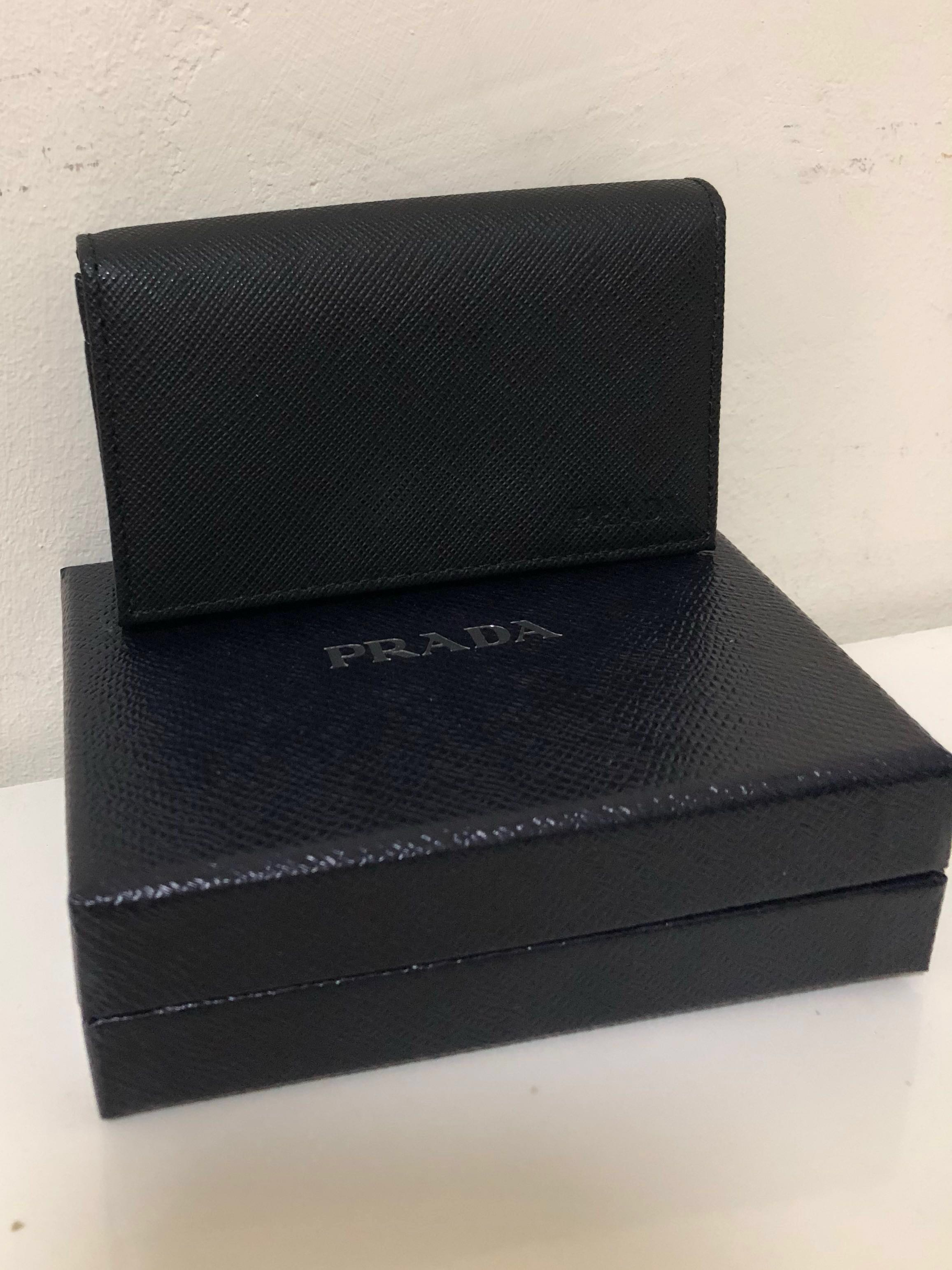 09aa41a888a8d3 CNY sales* price reduced Prada business card holder - authentic ...