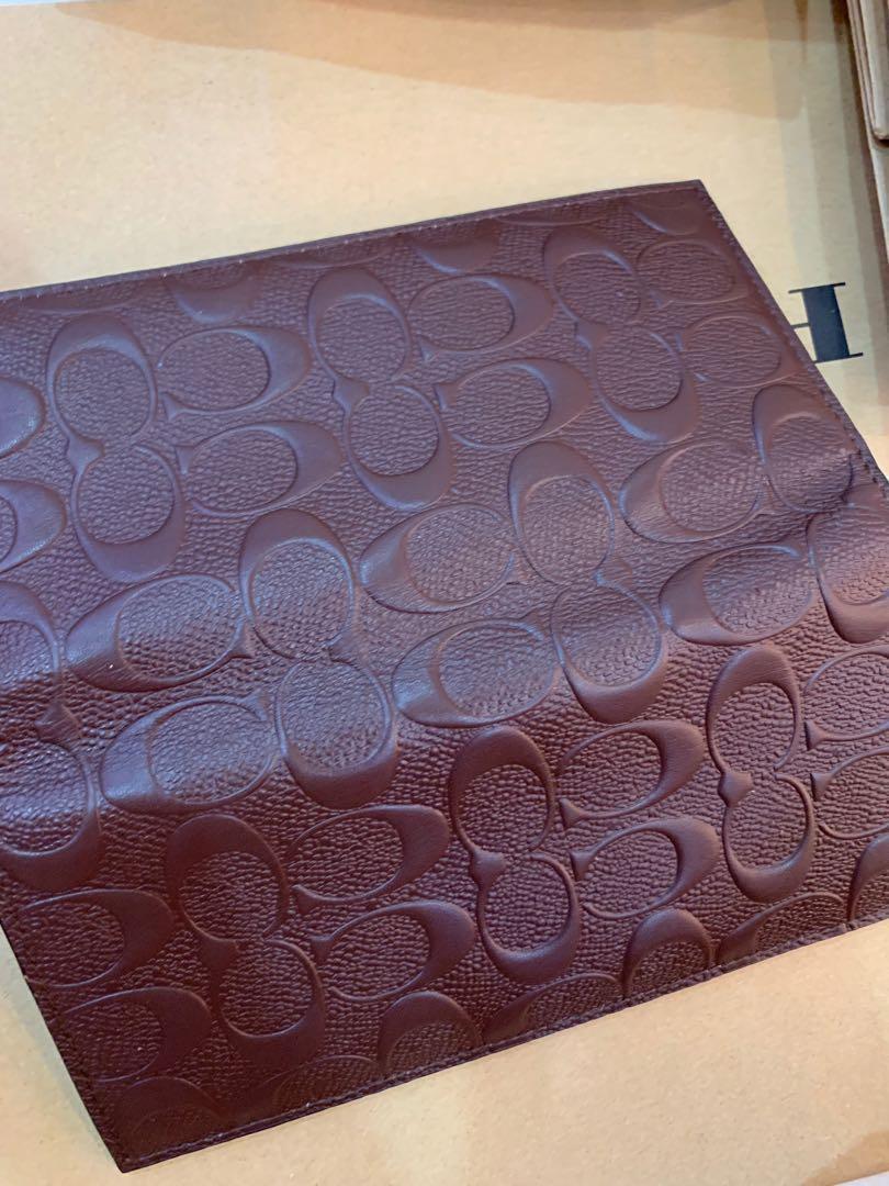 Coach Men's Wallet authentic ready stock long slim purse 74978 75365 75013