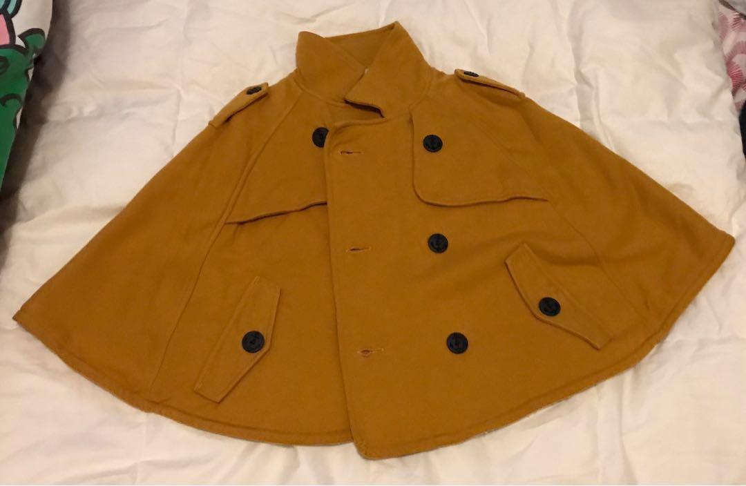 日本牌子Combi mini 斗篷外套-90-100cm