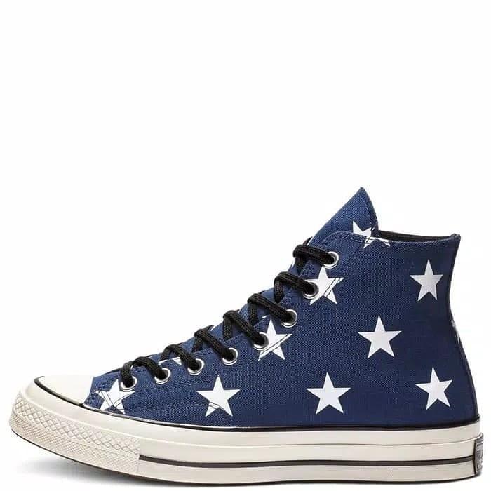 84b5cc36e7166 Converse 70s archive print stars navy, Men's Fashion, Men's Footwear ...