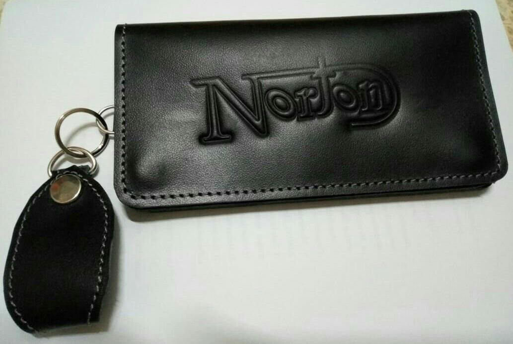 Dompet panjang kulit asli