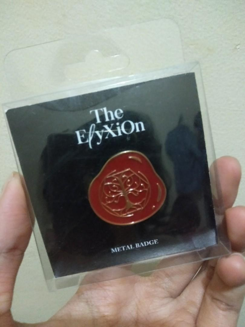 EXO BADGE ELIXYON DOT JAPAN