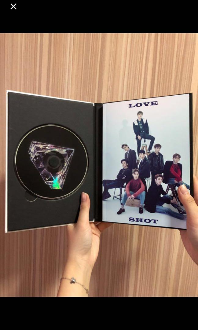 EXO Vol.5 Repackage- LOVE SHOT( LOVE + SHOT version)