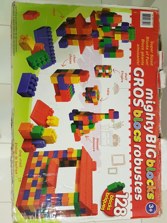 Giant Mega Blocks or Mega Blocs