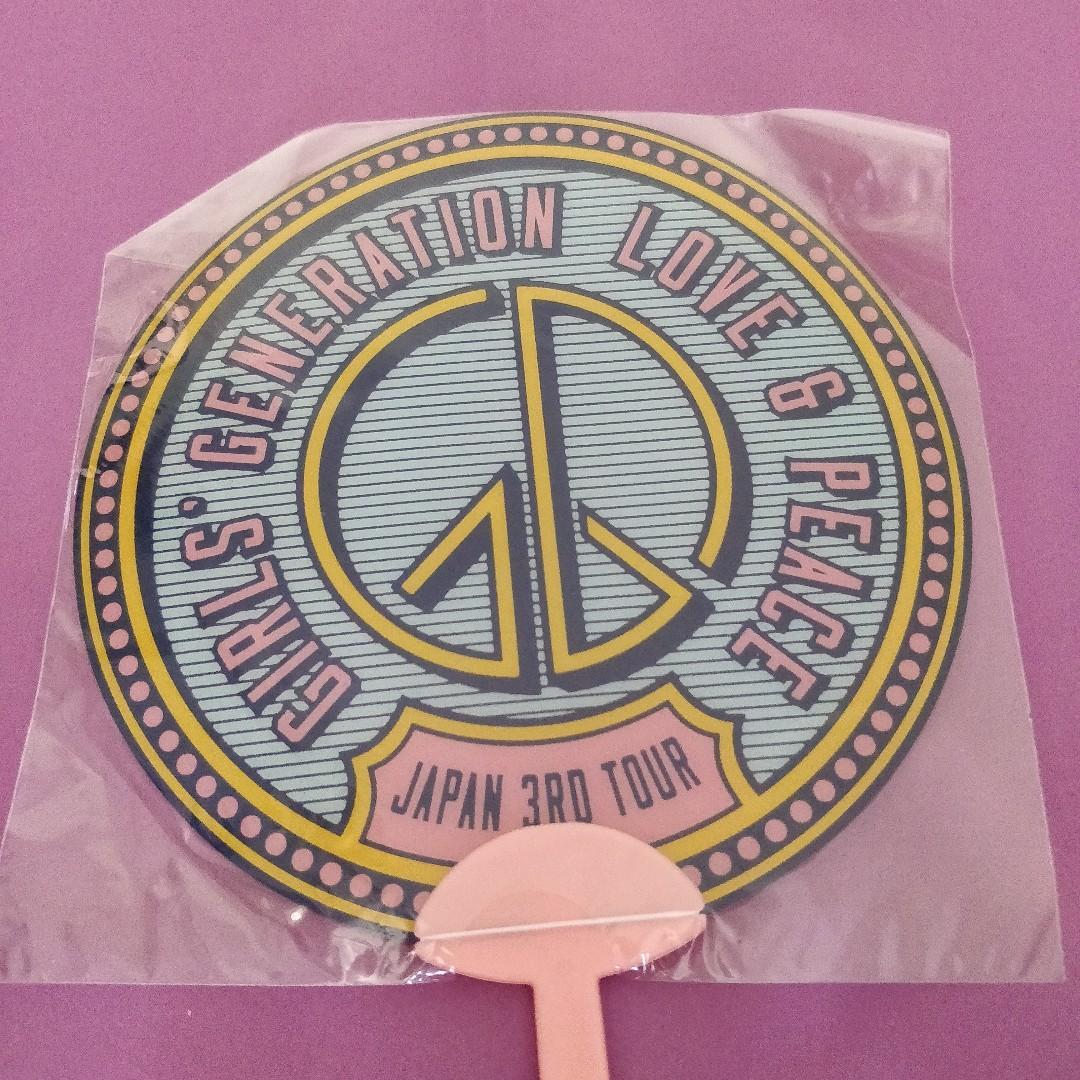 Girls' Generation Love & Peace Japan 3rd Tour 2014 Fan
